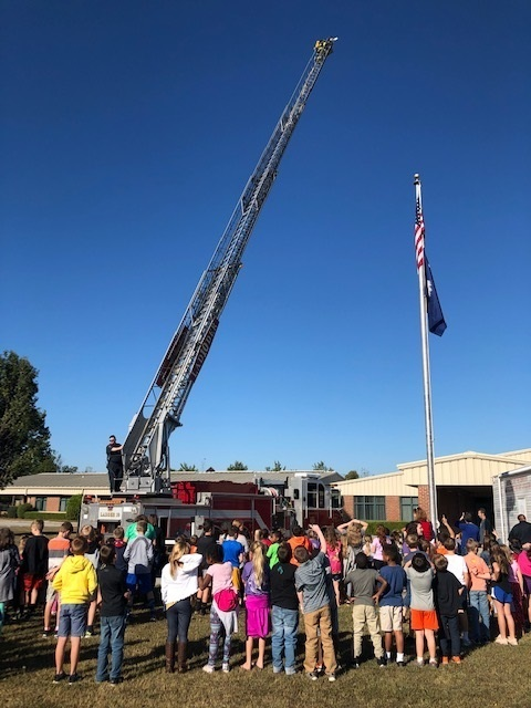 CTE Learns About Fire Prevention and Safety