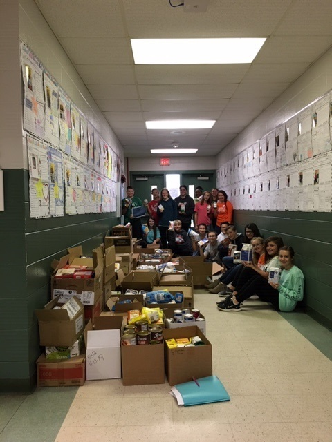 CTE Annual Food Drive