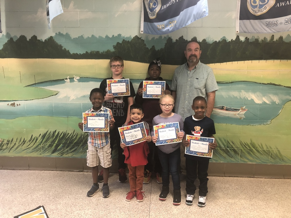 March Student of the Month- Cooperation
