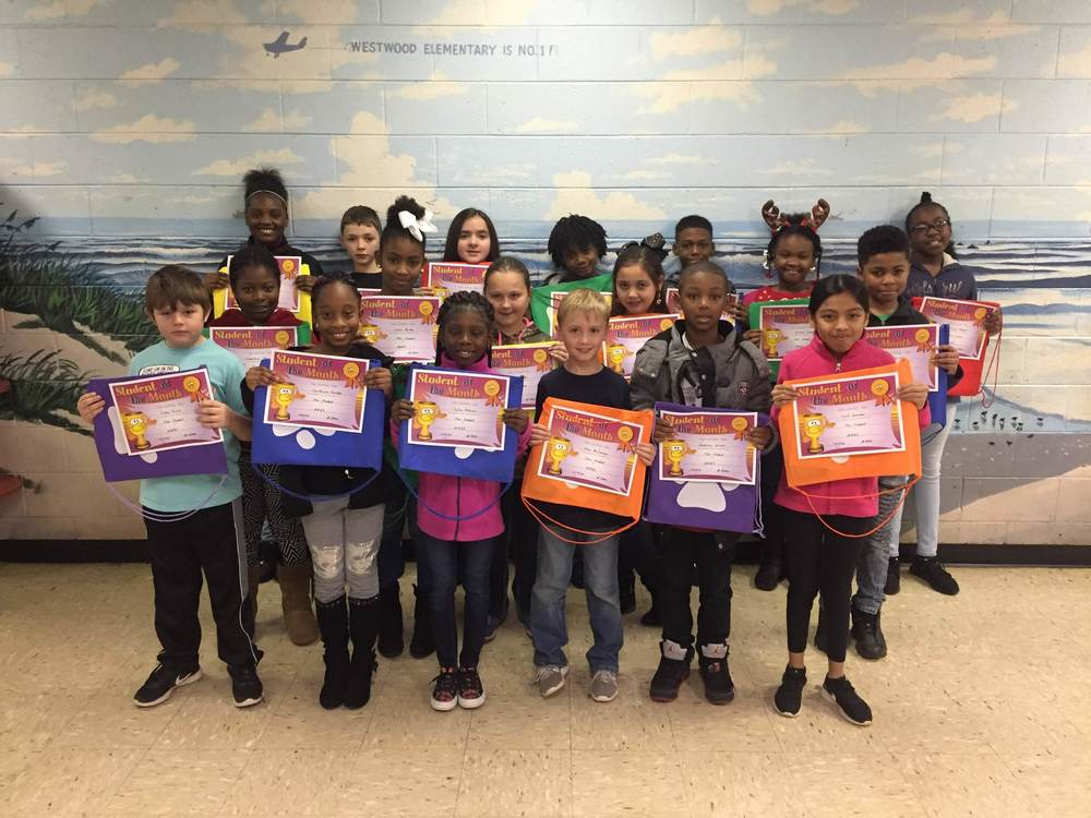 WWES Star Students for December