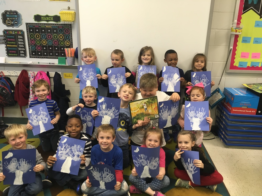 Mrs. Cann's Class Celebrates South Carolina Day 2019!