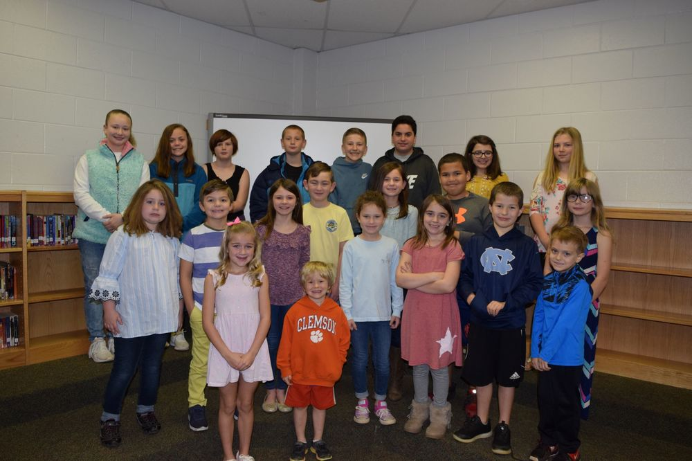 CTE Terrific Kids for March
