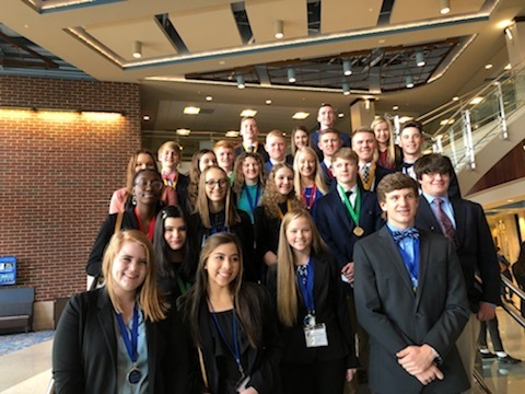 Dixie High School Students Named Winners at FBLA Conference