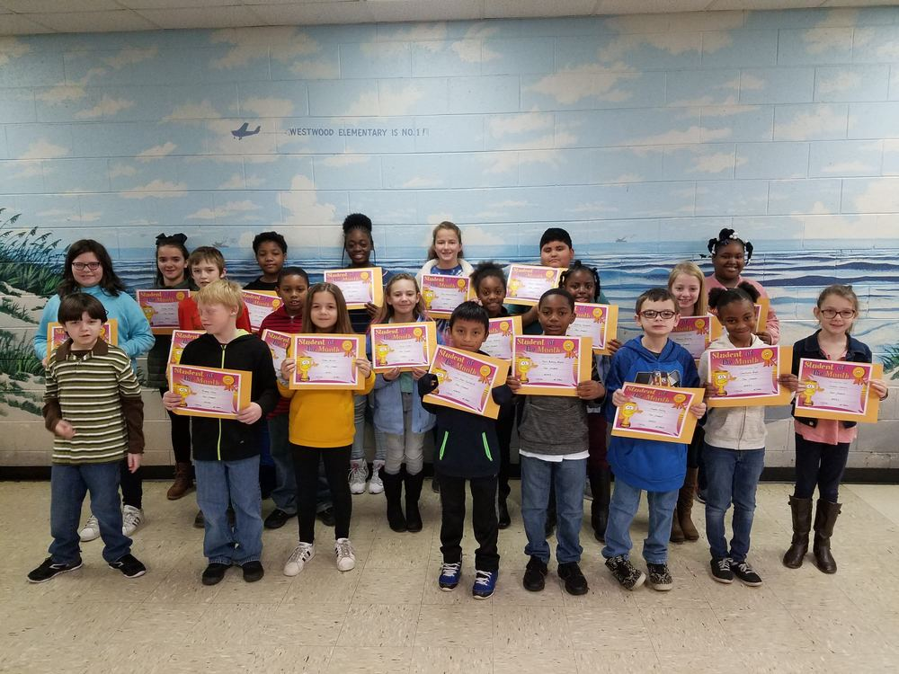 Westwood Star Students for November