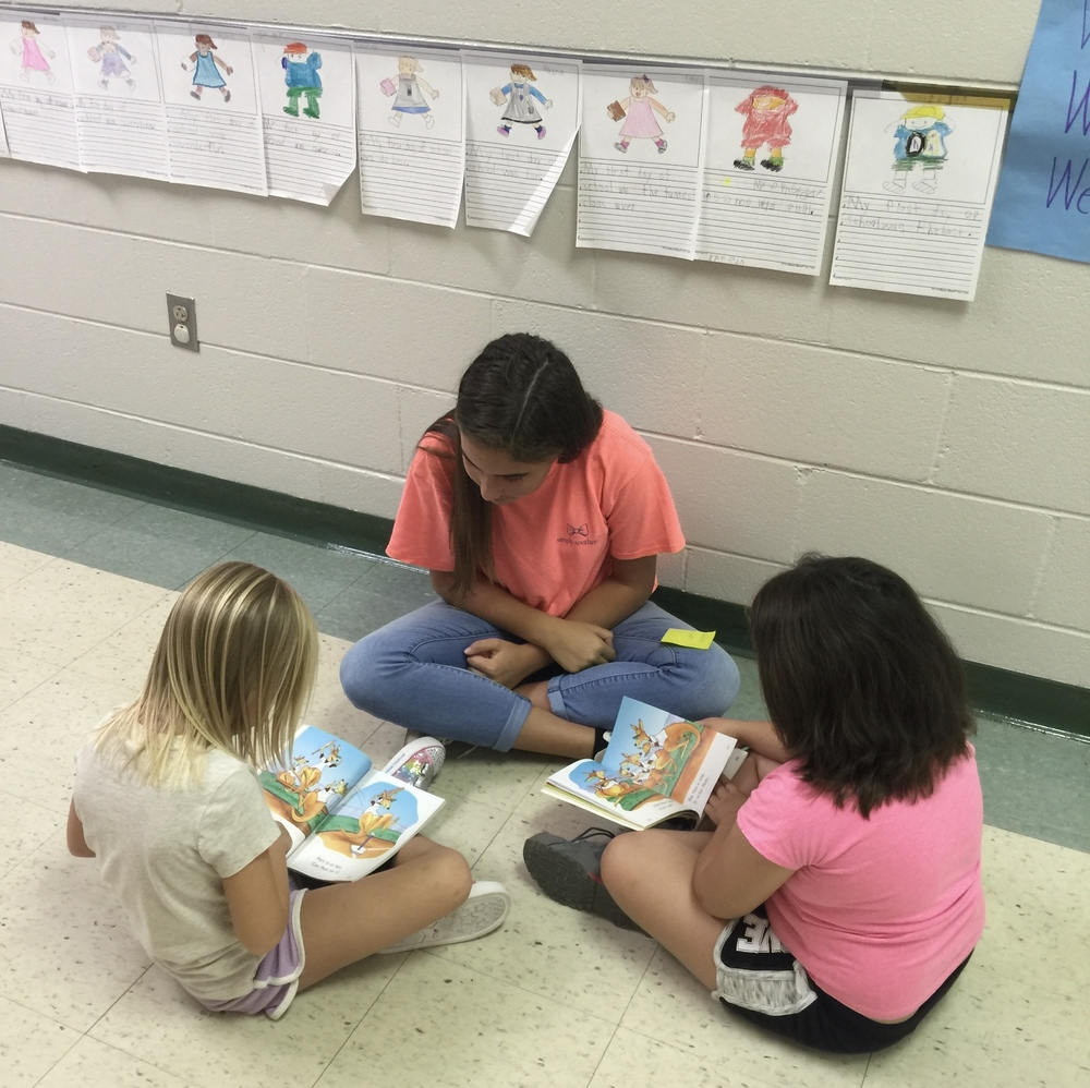 Reading Buddies at CTE