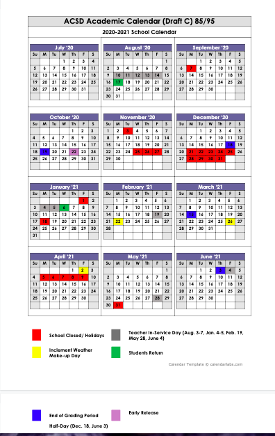 School Board Approves 2020-2021 School Calendar