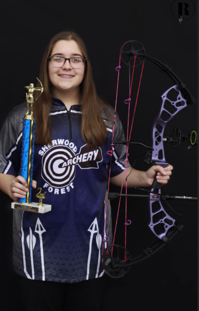 Madison Grubb Places 2nd at State Archery Competition