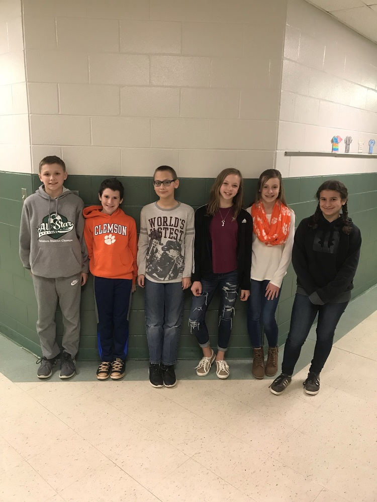 CTE 6th Grade Science Fair Winners