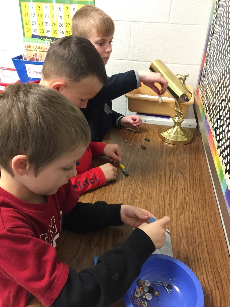 Hands on Learning in Second Grade