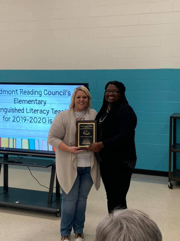 2019-2020 Elementary Distinguished Literacy Teacher