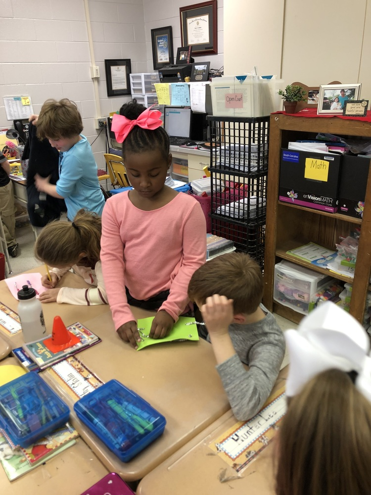 CTE Students Having Fun in Math!
