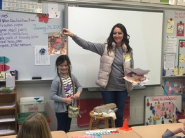 First Graders Learn About Life on the Farm