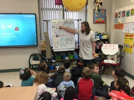 Mrs. Johnson's First Graders Learn about Capitalization!