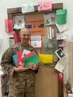 Second Graders Send Letters to US Soldiers