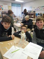 Fifth Graders Learn about Design and Engineering