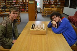Students Create Chessboard