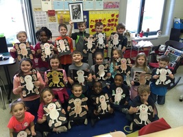 Mrs. Johnson's First Graders Learn About George Washington Carver