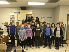 North/South All-Stars Visit Cherokee Trail Elementary
