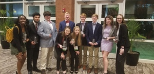 Dixie High FFBLA Receives Honors at State Conference