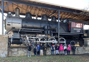 K4 Visits the Polar Express
