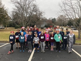 Rocky's Runners Participate in the Reindeer Run