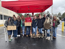 FFA Students Assist With Farmers to Families