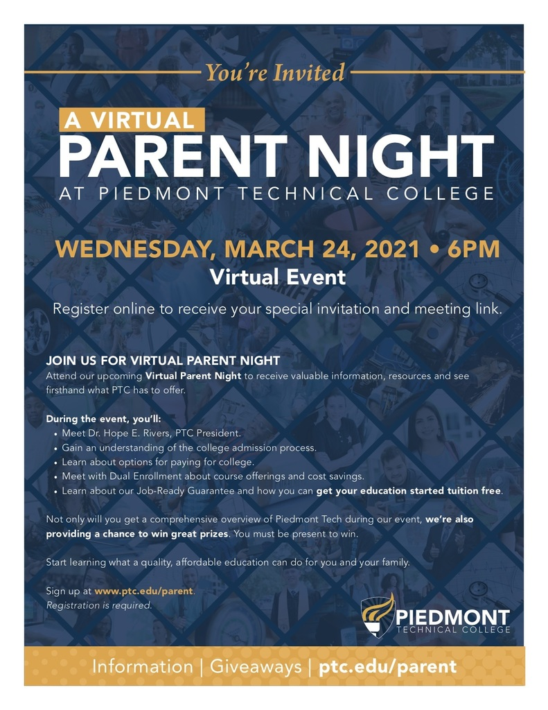 PTC Parent Night