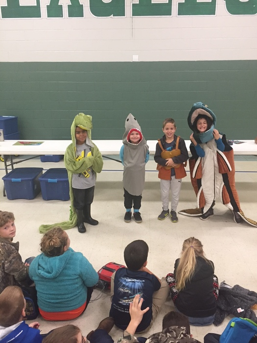 Students at CTES dress up as marine life characters