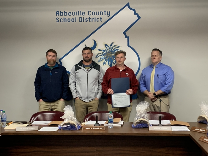 Abbeville High football coaches