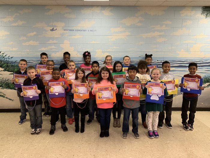 WWES Star Students for January 2019