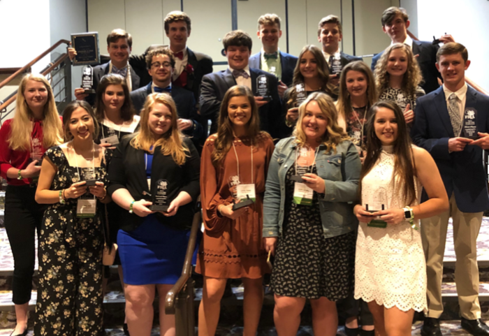 FBLA STATE LEADERSHIP CONFERENCE WINNERS