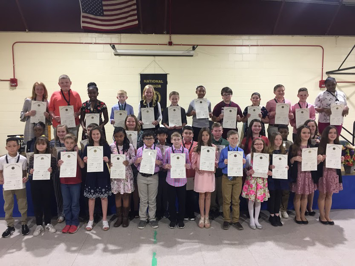 WWES Beta Club students