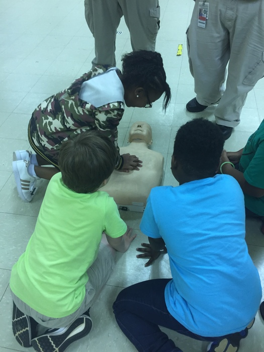 JCCE students get CPR certified
