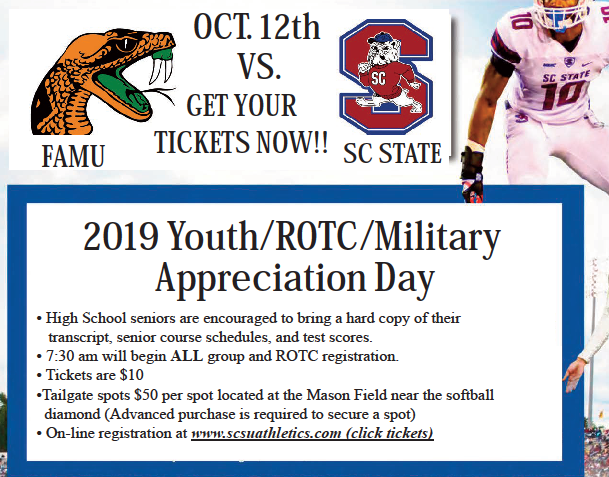 Youth/ROTC/Military Appreciation Day