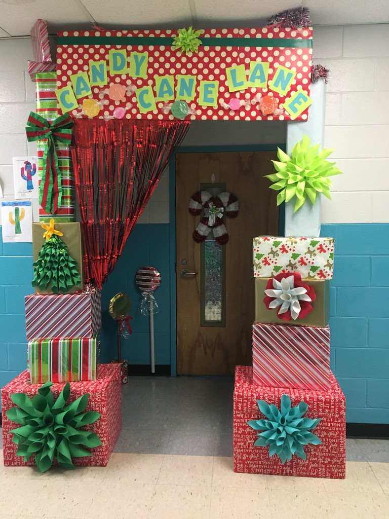Candy Cane Lane Entrance