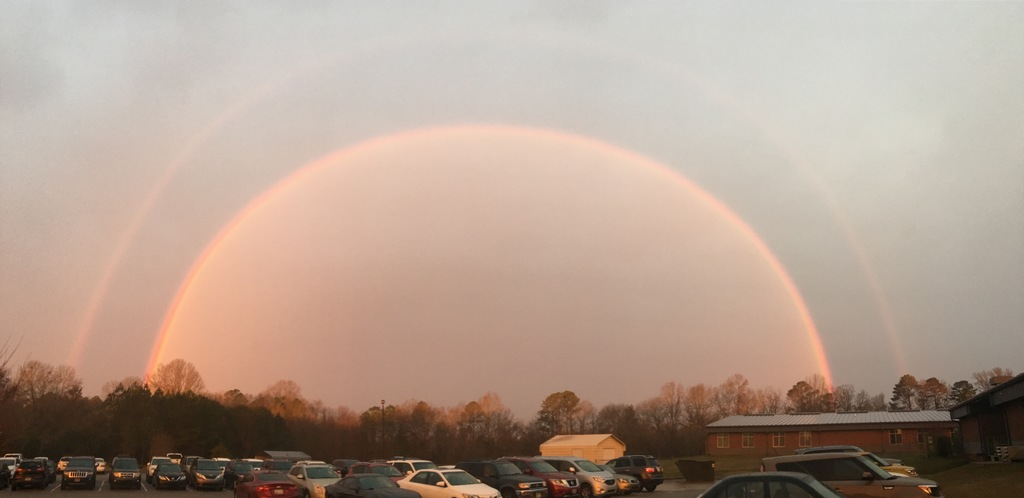 Rainbow over LCP