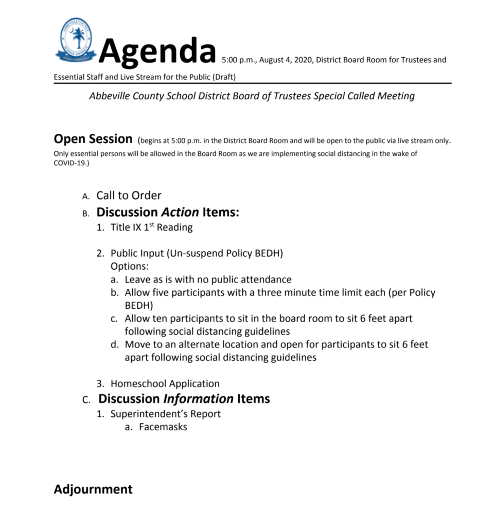 revised august 4th agenda