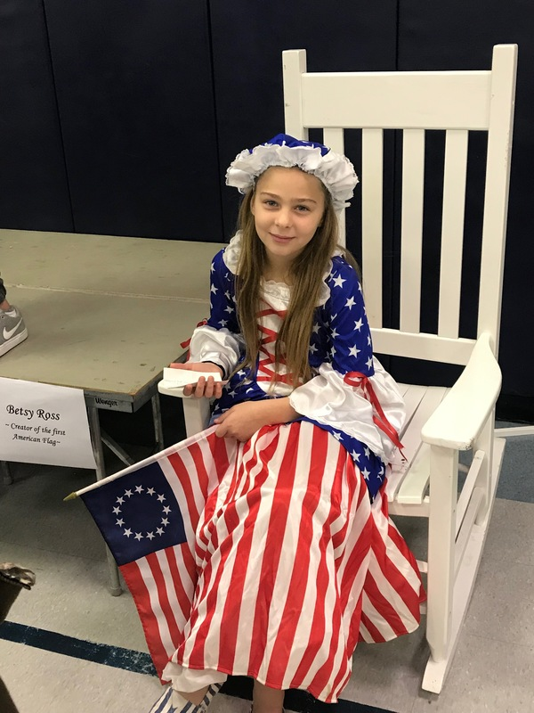 4th Graders Participate in Wax Museum